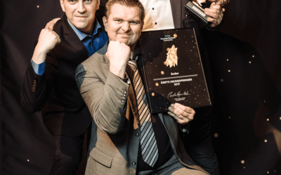 Endor selected Growth partner of the year 2017 (Hojdespringer) at HPE Denmark Hector awards