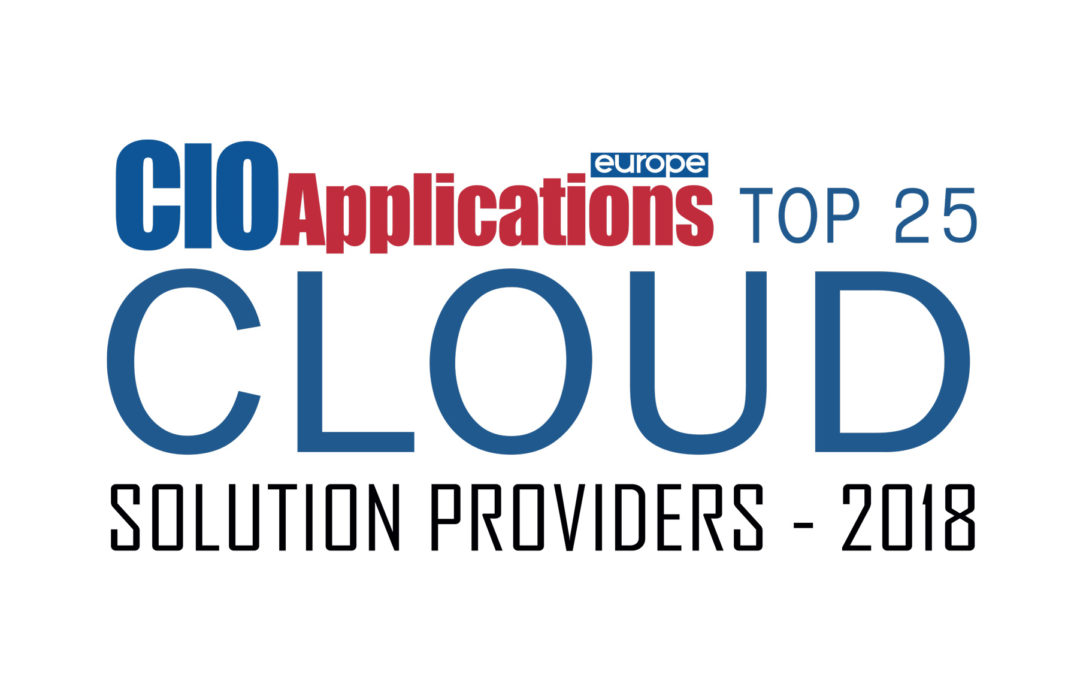 Endor Among Top 25 Cloud Solutions Providers in 2018 According to CIO Applications Europe